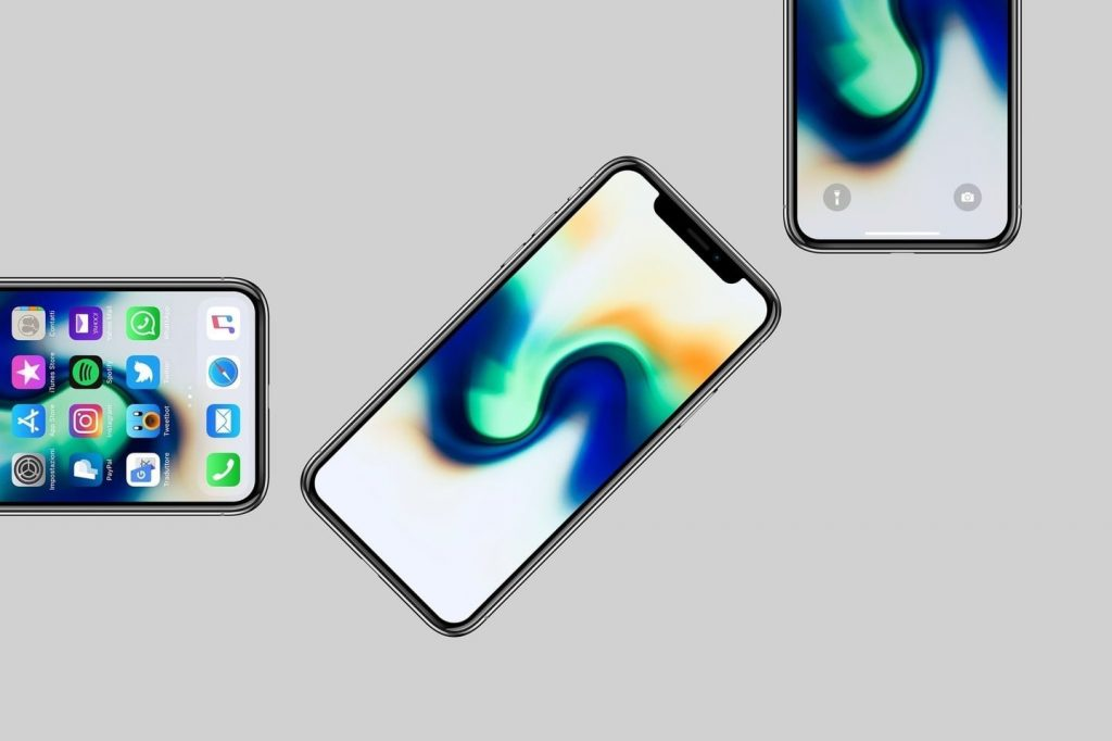 iphone x display iOS 12