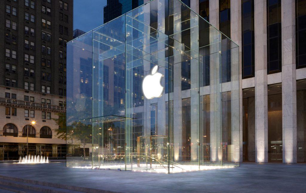 apple glass cube new york