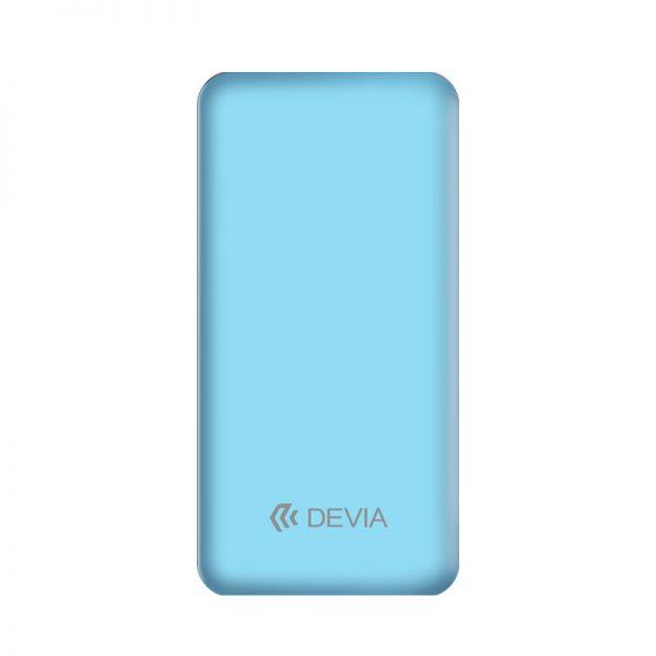 Devia - 10,000mAh Dual Port LED Indicator Powerbank - Blue