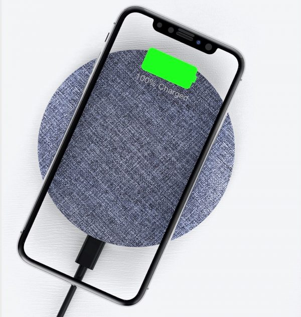 Devia - 15W Wireless Charging Pad - Grey