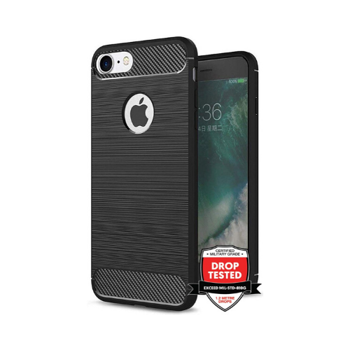 Carbon Air for iPhone 8/7 - Black