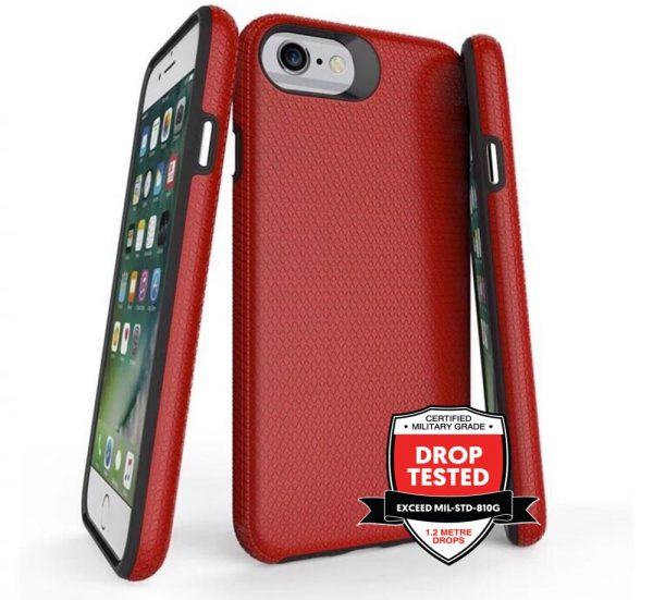DualPro for iPhone 8/7/6S/6 - Red