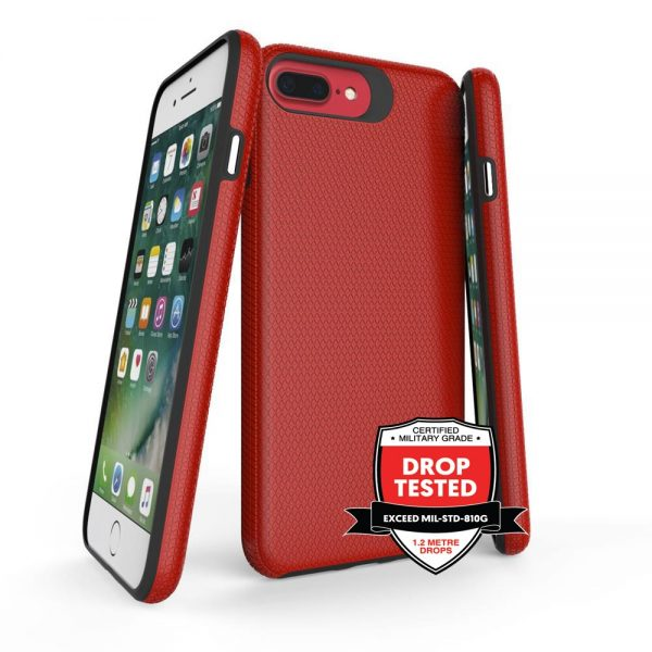 DualPro for iPhone 8/7/6S/6 Plus - Red