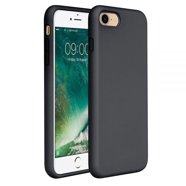 Silicone for iPhone 8/7 - Black