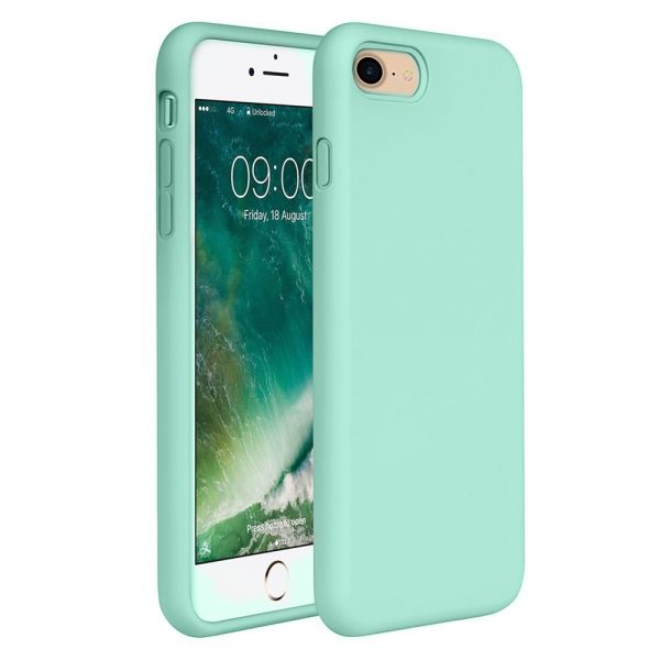 Silicone for iPhone 8/7 - Mint