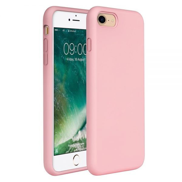 Silicone for iPhone 8/7 - Pink