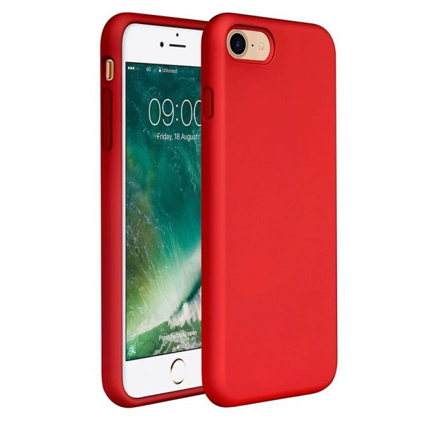 Silicone for iPhone 8/7 - Red