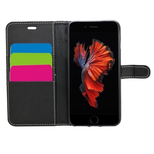 Wallet for iPhone 8/7/6S/6 Plus - Black