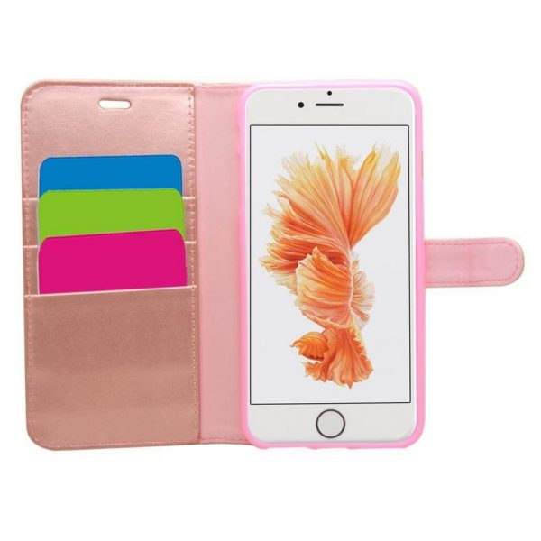 Wallet for iPhone 8/7/6S/6 Plus - Rose Gold