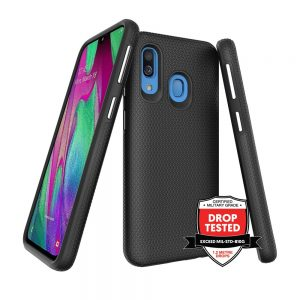 DualPro for Galaxy A40 - Black