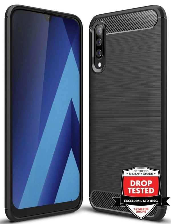 Carbon Air for Galaxy A50 - Black