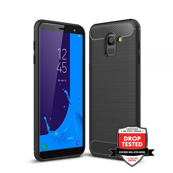 Carbon Air for Galaxy J6 (2018) - Black