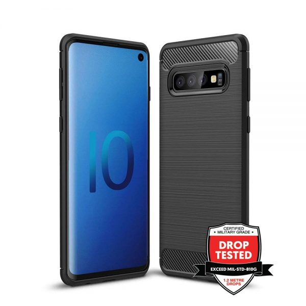 Carbon Air for Galaxy S10 - Black