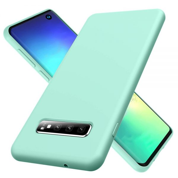 Silicone for Galaxy S10 - Mint
