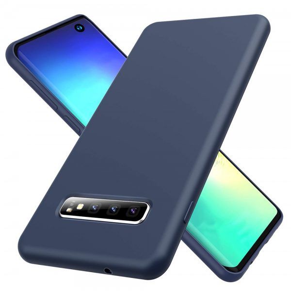 Silicone for Galaxy S10 - Navy