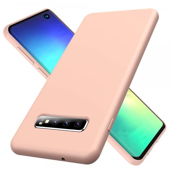 Silicone for Galaxy S10 - Pink