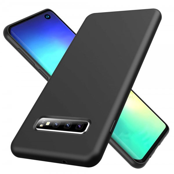 Silicone for Galaxy S10 Plus - Black