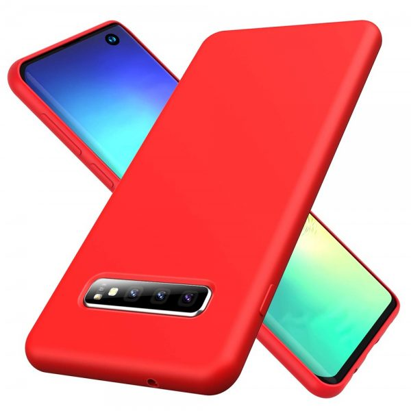 Silicone for Galaxy S10 Plus - Red
