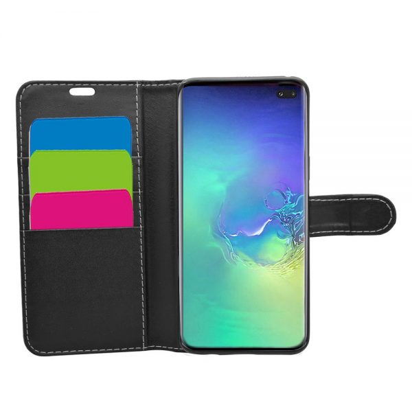 Wallet for Galaxy S10 Plus - Black