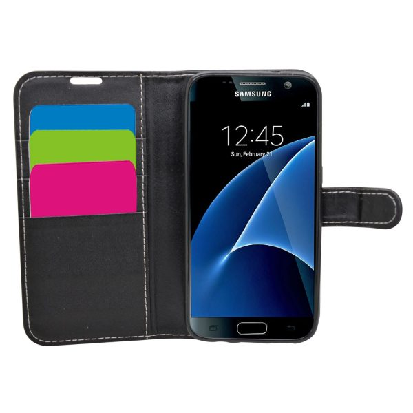 Wallet for Galaxy S7 - Black