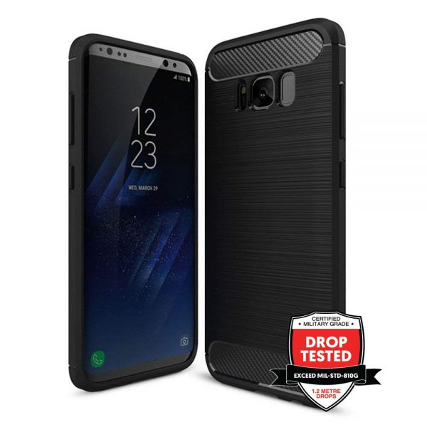 Carbon Air for Galaxy S8 - Black