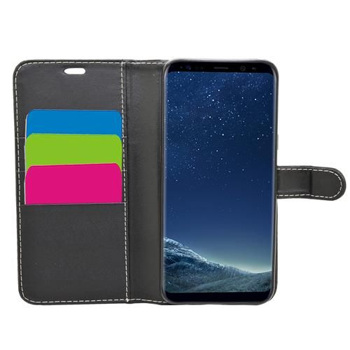 Wallet for Galaxy S8 - Black
