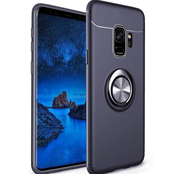 Ring Armour for Galaxy S9 - Navy