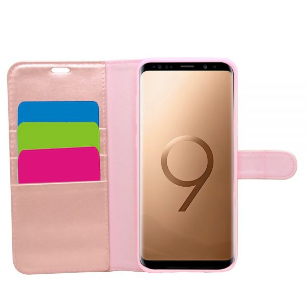 Wallet for Galaxy S9 Plus - Rose Gold