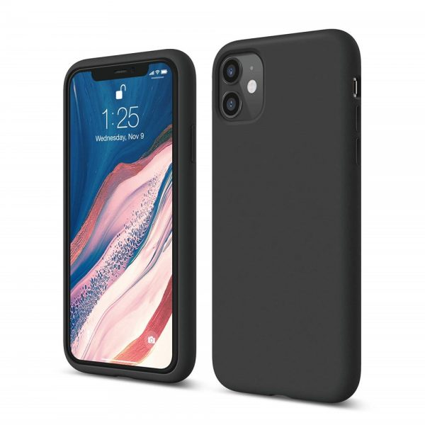 Silicone for iPhone 11 - Black