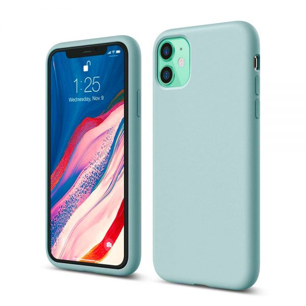 Silicone for iPhone 11 - Mint