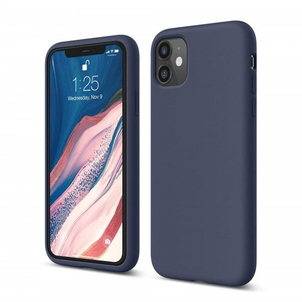 Silicone for iPhone 11 - Navy