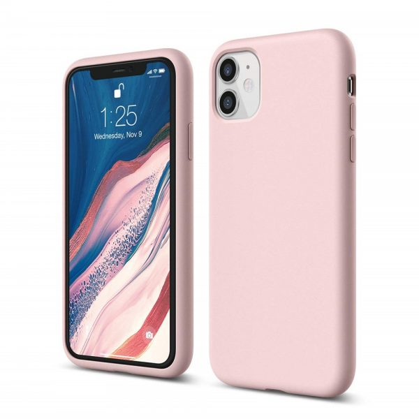Silicone for iPhone 11 - Pink