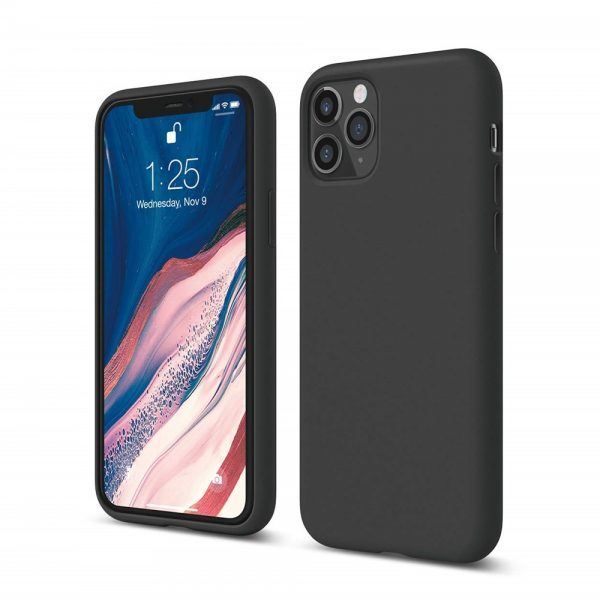 Silicone for iPhone 11 Pro - Black
