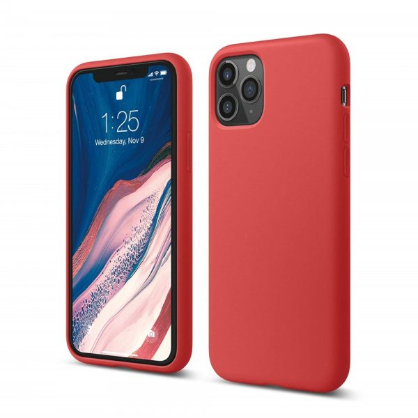 Silicone for iPhone 11 Pro - Red