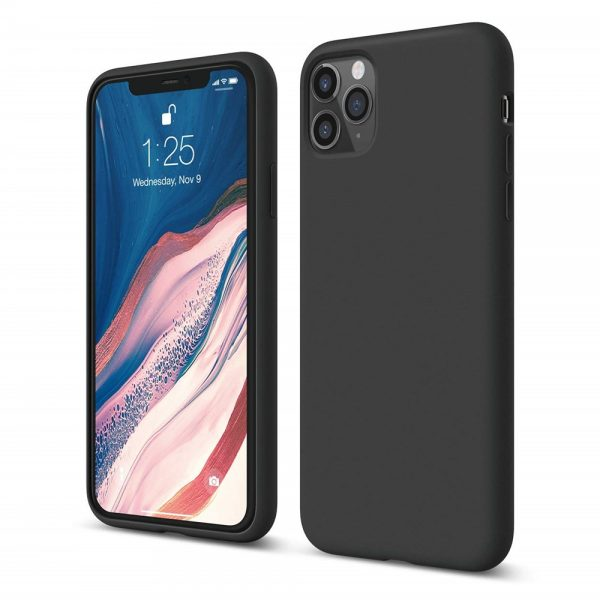 Silicone for iPhone 11 Pro Max - Black