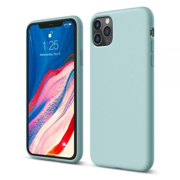 Silicone for iPhone 11 Pro Max - Mint