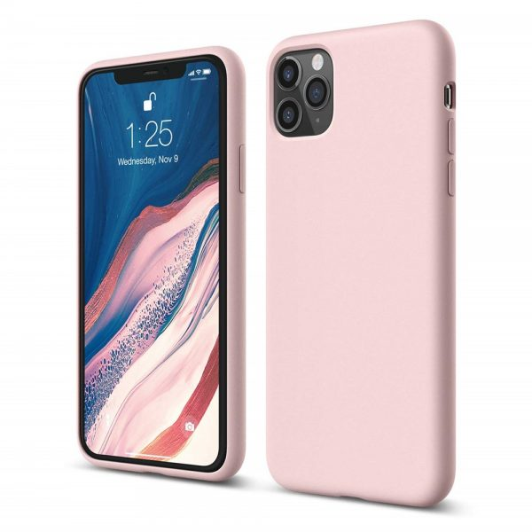 Silicone for iPhone 11 Pro Max - Pink