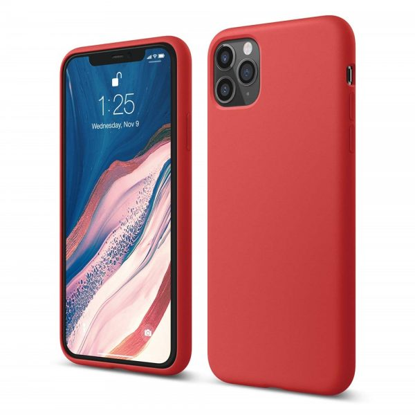 Silicone for iPhone 11 Pro Max - Red