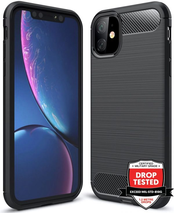 Carbon Air for iPhone 11 - Black