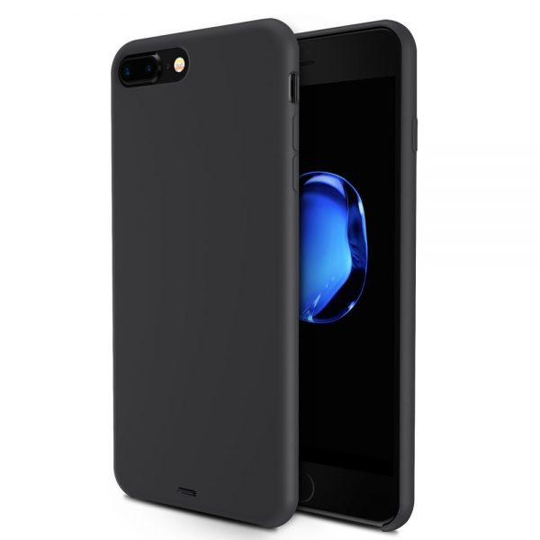 Silicone for iPhone 8/7 Plus - Black