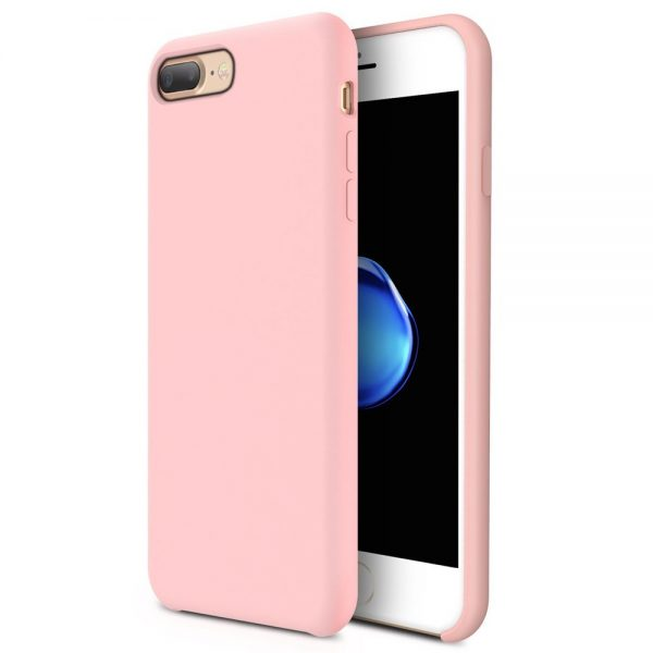 Silicone for iPhone 8/7 Plus - Pink