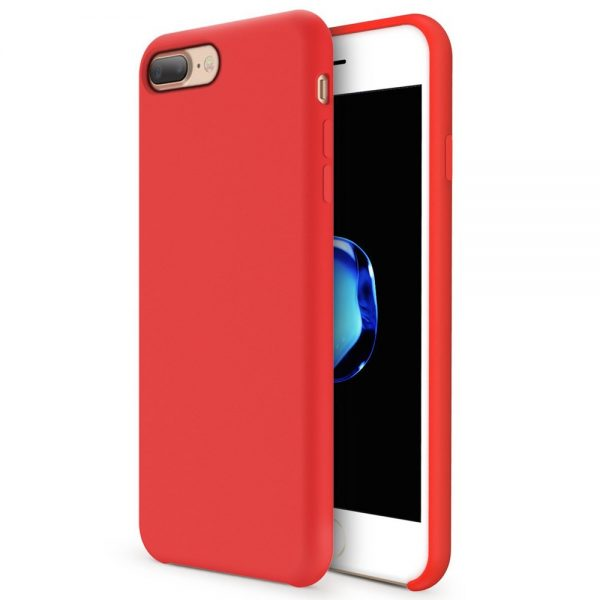 Silicone for iPhone 8/7 Plus - Red