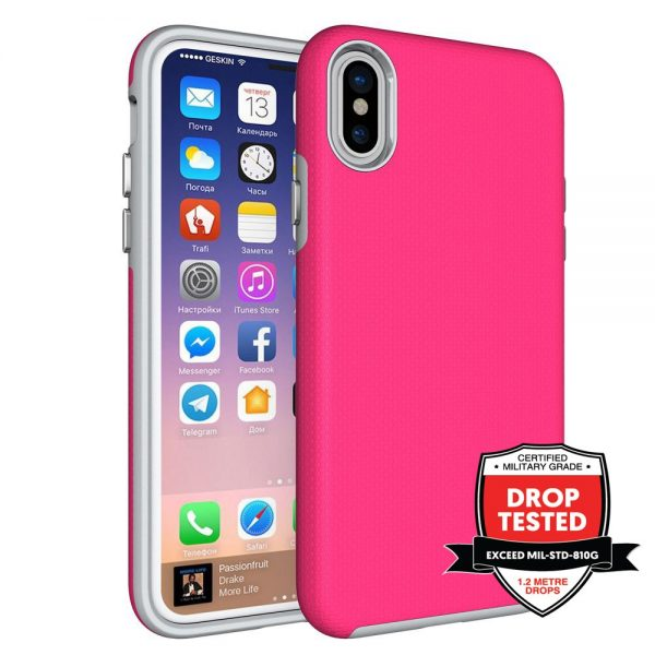 DualPro for iPhone XS/X - Pink