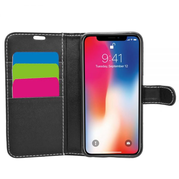 Wallet for iPhone XR - Black