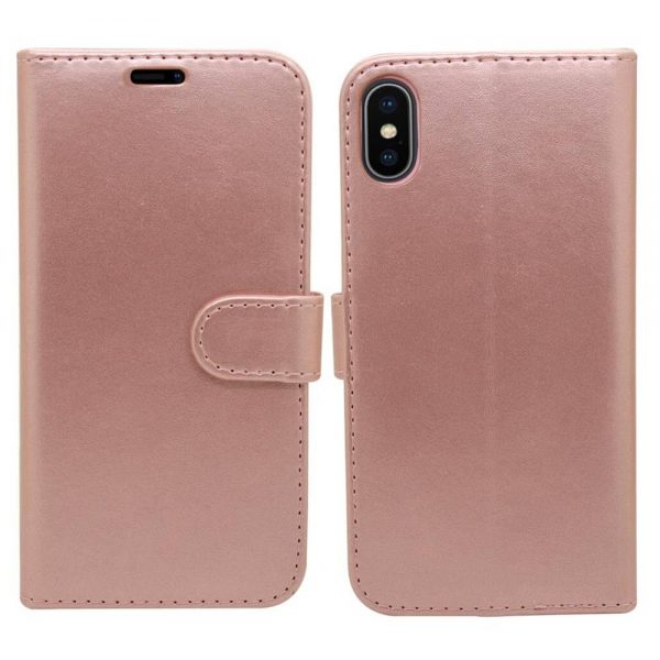 Wallet for iPhone XR - Rose Gold