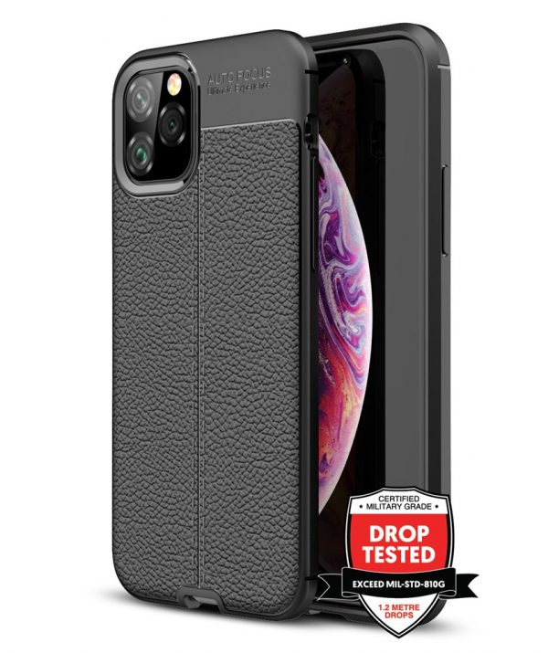 Leather Air for iPhone 11 Pro - Black