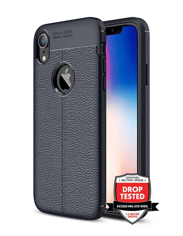 Leather Air for iPhone XR - Black
