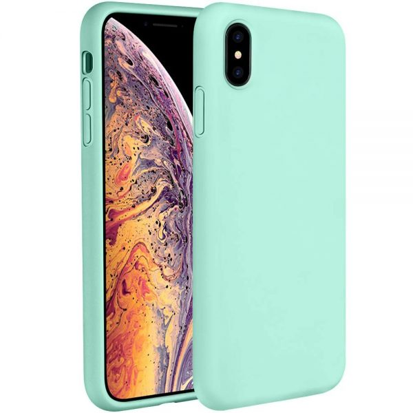 Silicone for iPhone XS/X - Mint