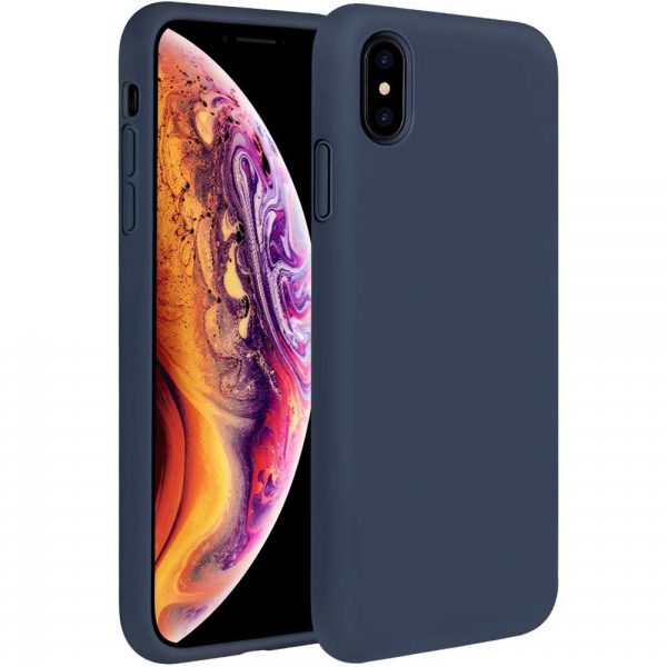 Silicone for iPhone XS/X - Navy