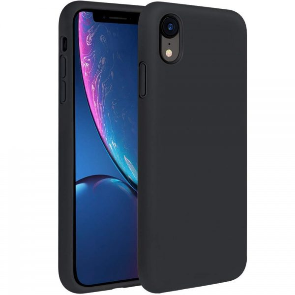 Silicone for iPhone XR - Black